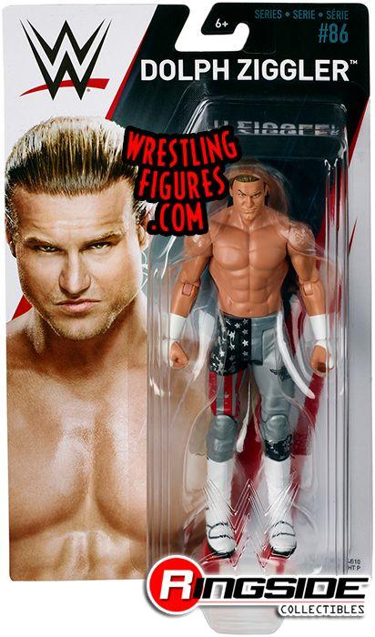 WWE Serie 86 Set completo di tutte le 5 Action Figure FLAIR tozawa Nemeth Roman il Rock