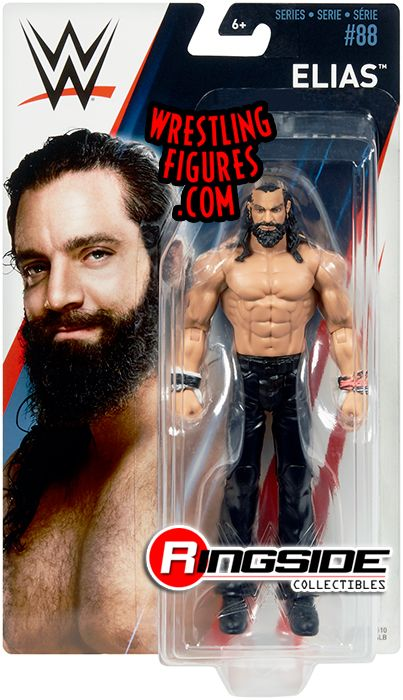 Elias WWE Series 88 Mattel Toy Wrestling Action Figure