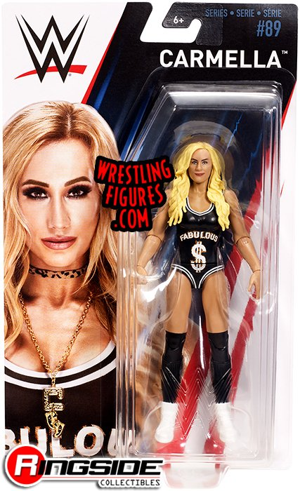 Carmella Wwe Series 89 Wwe Toy Wrestling Action Figure