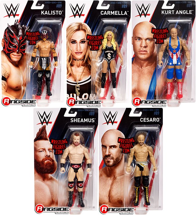 WWE Action Figure Carmella Standard Series 89