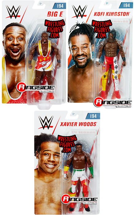 Package Deal New Day Wwe Series 94 Set Of 3 Wwe Toy