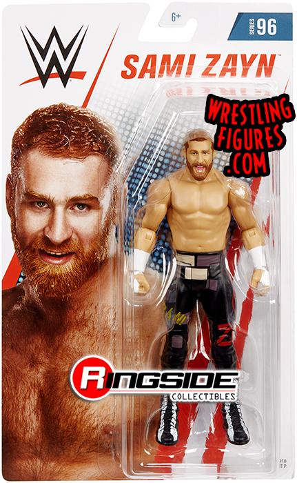 Sami Zayn Wwe Series 96 Wwe Toy Wrestling Action Figure