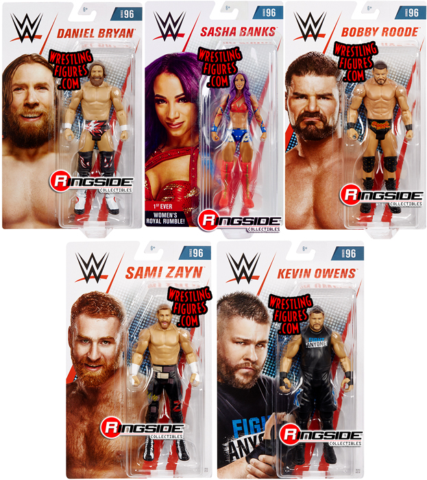 WWE Mattel Daniel Bryan Series 96 Basic Figure