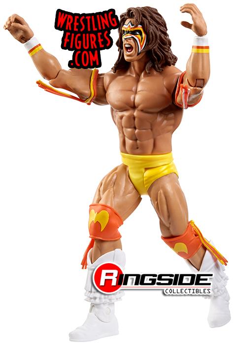 WWE Mattel Ultimate Warrior Series 98 figure loose