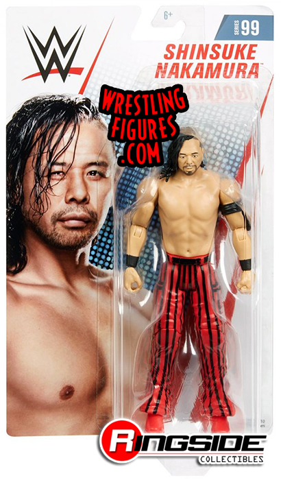 Shinsuke Nakamura Wwe Series 99 Wwe Toy Wrestling Action