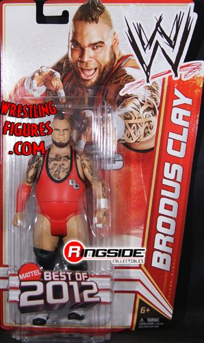 Brodus Clay Wwe Series Quot Best Of 2012 Quot Wwe Toy Wrestling
