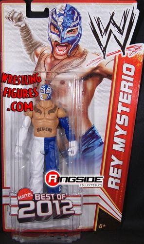 "Rey Mysterio - WWE Series ""Best of 2012"" WWE Toy Wrestling ..."