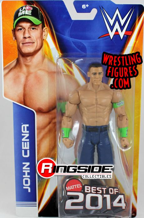 John Cena Wwe Series Quot Best Of 2014 Quot Ringside Collectibles