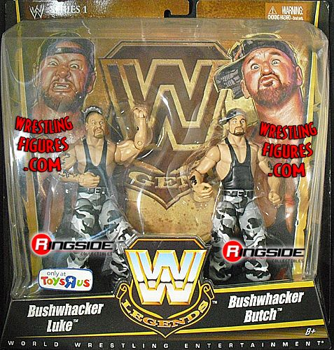 The Bushwhackers Wwe Legends 2 Pack Exclusive Ringside