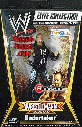 Undertaker 18 0 Wwe Wrestlemania Xxvi Elite Exclusive