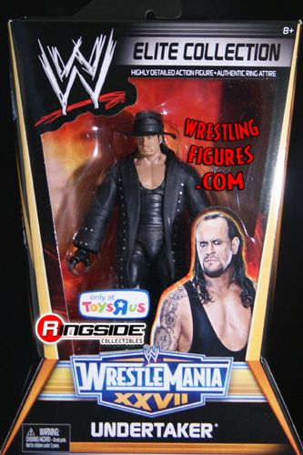 Undertaker Wrestlemania 27 Elite Exclusive Ringside