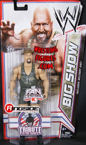 Big Show Wwe Tribute To The Troops Exclusive Wwe Toy