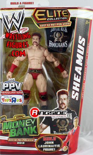 Sheamus Red Trunks Best Of Ppv Elite Exclusive
