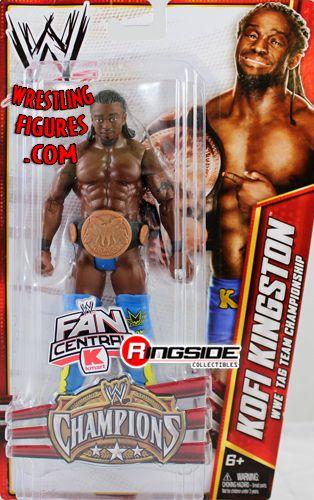 Kofi Kingston W Wwe Tag Team Championship Belt Champions