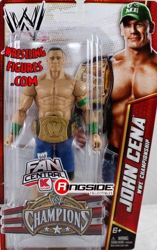 John Cena W Wwe Championship Belt Champions Exclusive