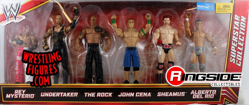 Superstar Collection Wwe 6 Pack Exclusive Ringside
