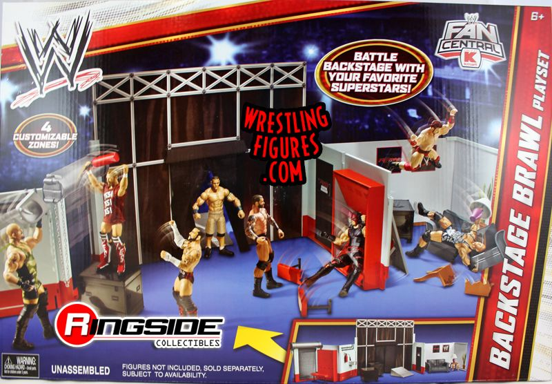 Wwe The Cell Ring Playset Walmart