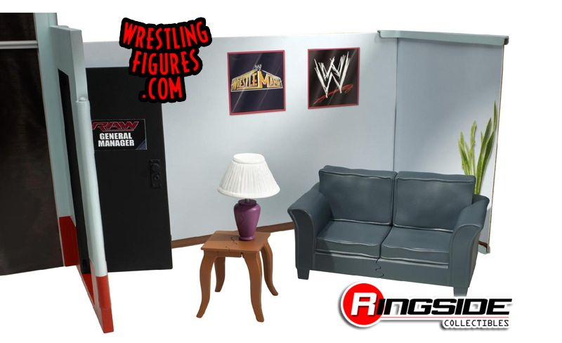 WWE backstage couch playset action figure Mattel