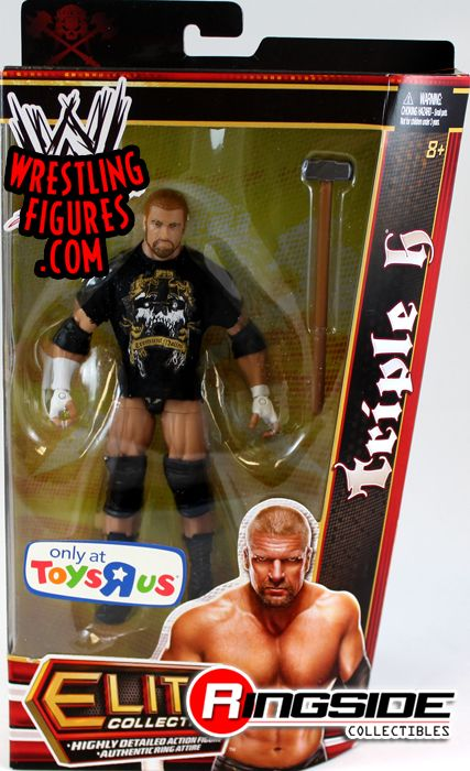 Triple H W Sledgehammer Wwe Elite Exclusive Ringside