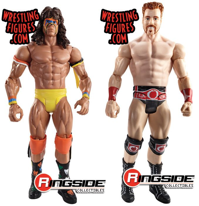 Mattel WWE WrestleMania XXX Battle Packs Ultimate Warrior vs. Sheamus!
