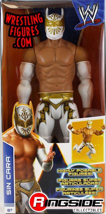 Mattel WWE Sin Cara 12 Inch Figure!