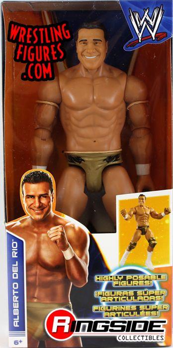 Mattel WWE 12 Inch Alberto Del Rio Figure!