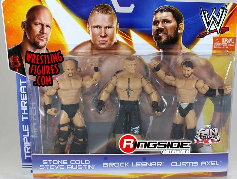 Stone Cold Steve Austin Brock Lesnar Amp Curtis Axel Wwe