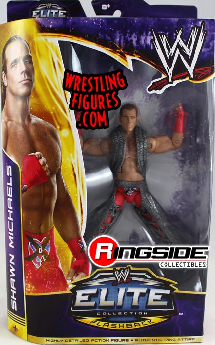 "Shawn Michaels - WWE Elite ""WrestleMania 30"" (Variant - NO ..."