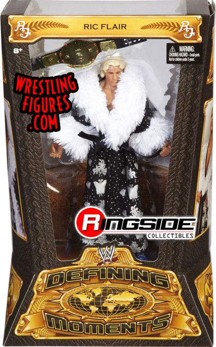 Ric Flair Wwe Defining Moments Wwe Toy Wrestling Action