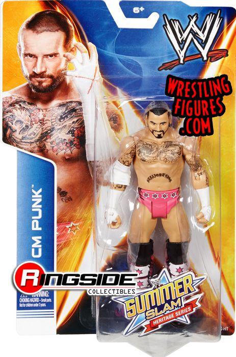 Cm Punk Wwe Summerslam 2014 Wwe Toy Wrestling Action