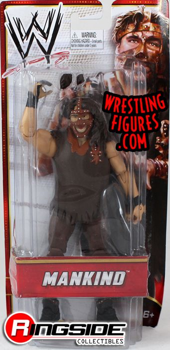Mankind Wwe Exclusive Ringside Collectibles