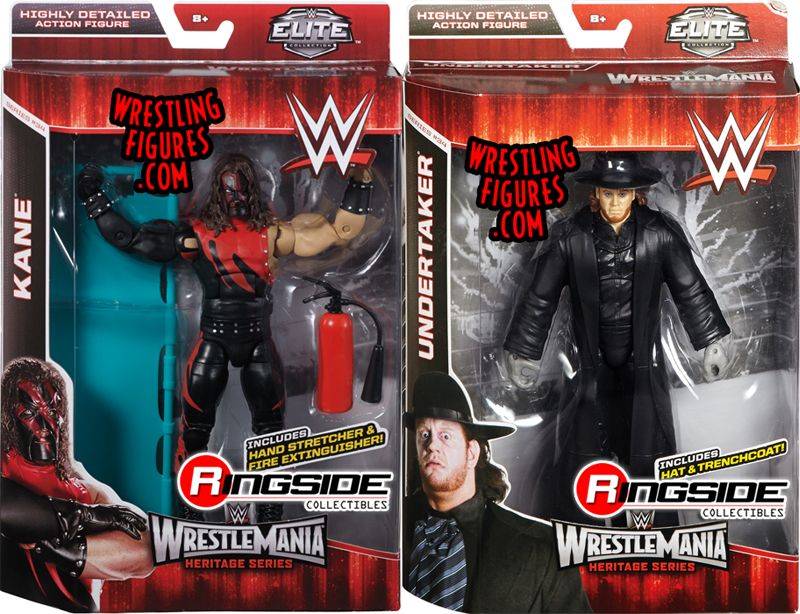 Wwe Elite Quot Wrestlemania 31 Quot Complete Set Of 2 Wwe Toy