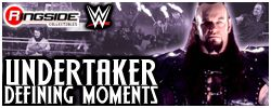Undertaker - WWE Defining Moments Exclusive by Mattel