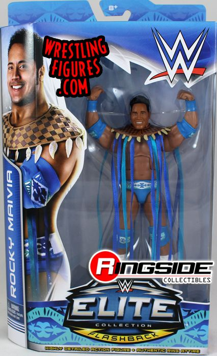Rocky Maivia The Rock Wwe Elite Flashback Exclusive