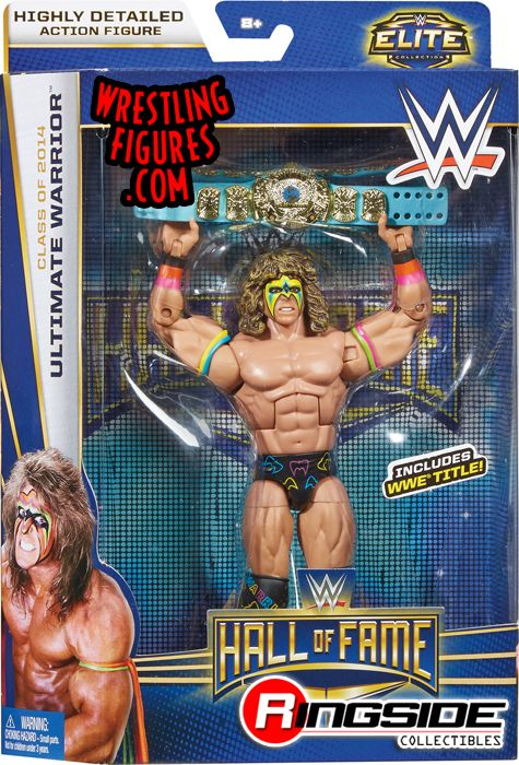 Ultimate Warrior Wwe Hall Of Fame 2014 Wwe Toy Wrestling