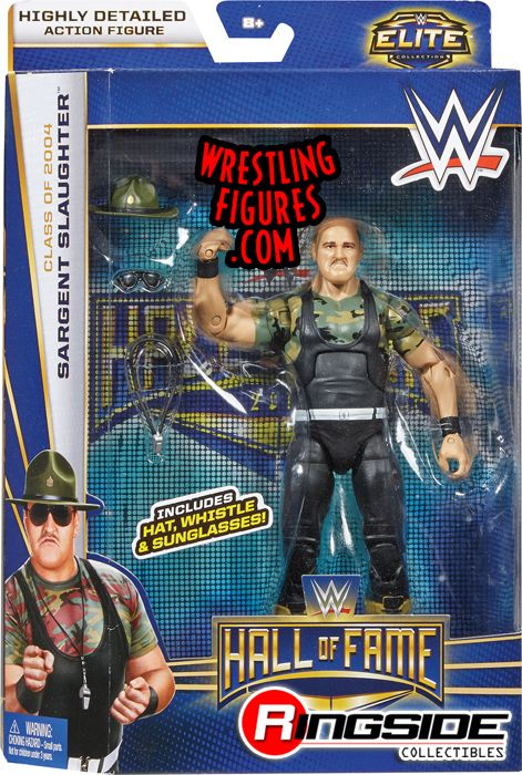 Sgt Slaughter Wwe Hall Of Fame 2014 Wwe Toy Wrestling