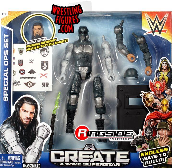 Roman Reigns Special Forces Wwe Create A Superstar