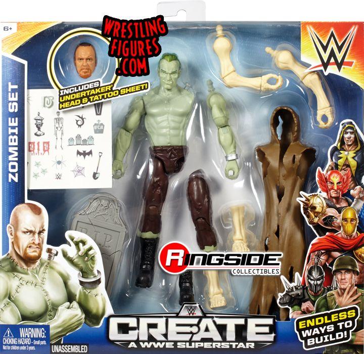 WWE Create a Superstar Undertaker Frankenstein Pack