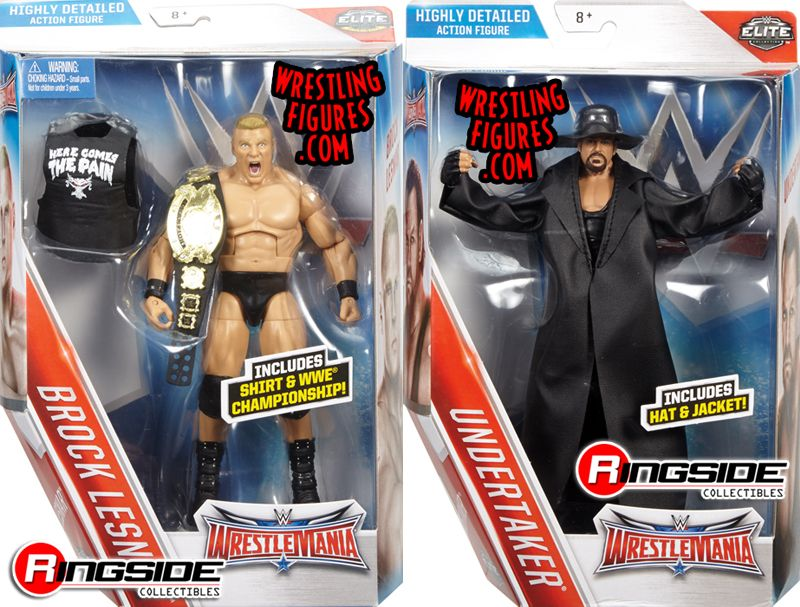 NEW!!! Ric Flair and The Rock Figure 2-Pack LOOSE!! WWE Wrestlemania 32