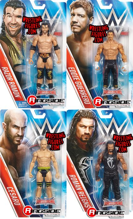 Wwe Series Quot Wrestlemania 32 Quot Complete Set Of 4 Wwe Toy
