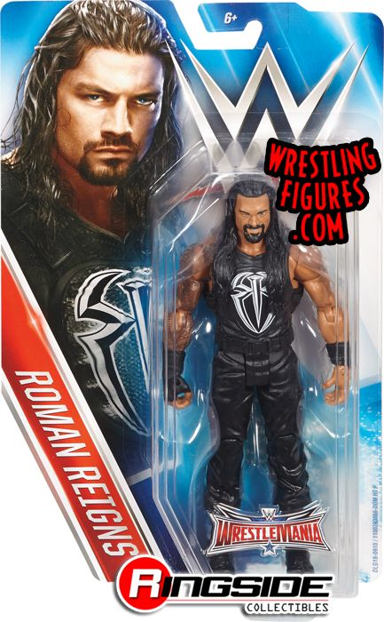 Wwe Girl Toys : Roman reigns wwe series quot wrestlemania toy