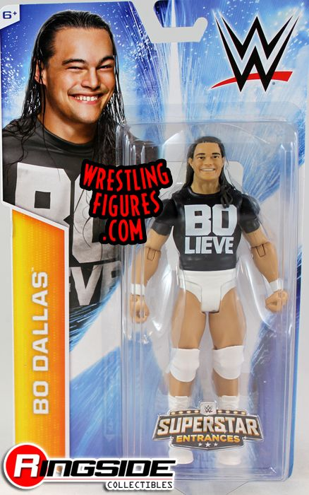 Bo Dallas With Painted Shirt Superstar Entrances