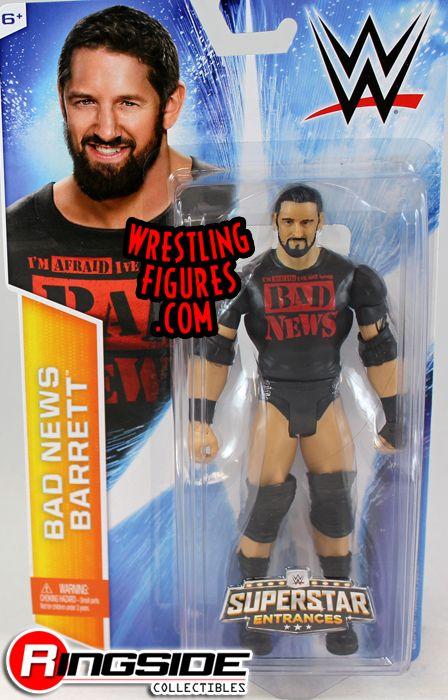 Bad News Barrett Wade Barrett With Painted Shirt