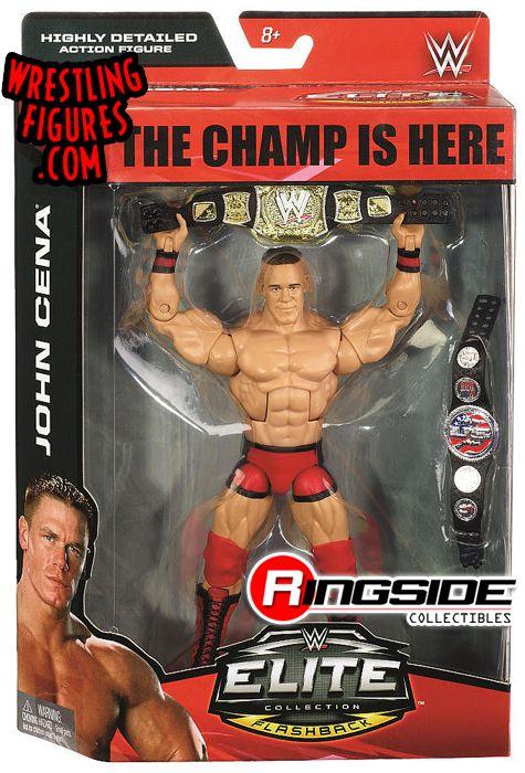 John Cena Debut Attire With 2 Belts Wwe Toy Wrestling