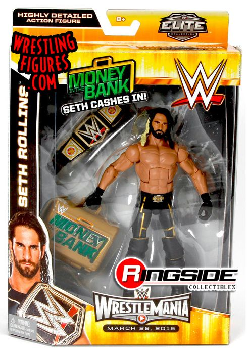 Quot Seth Cashes In Quot Seth Rollins Elite Exclusive Wwe Toy