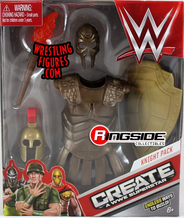 Knight Pack Wwe Create A Superstar Accessory Pack Wwe
