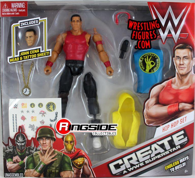 John Cena (Hip Hop Set) - WWE Create-A-Superstar (Large Pack) WWE ...