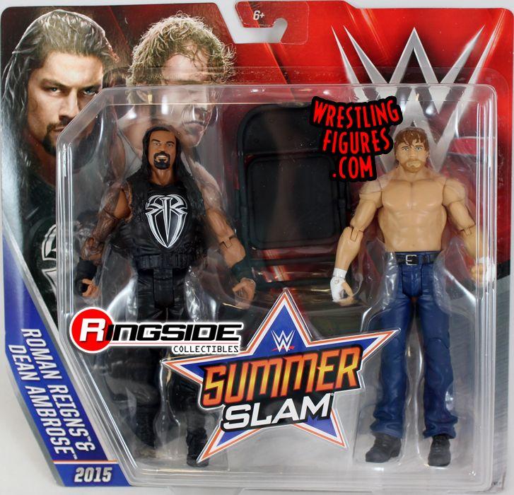 Roman Reigns Amp Dean Ambrose Wwe Battle Packs Quot Summerslam