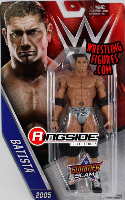 Batista Wwe Series Quot Summerslam 2016 Quot Wwe Toy Wrestling