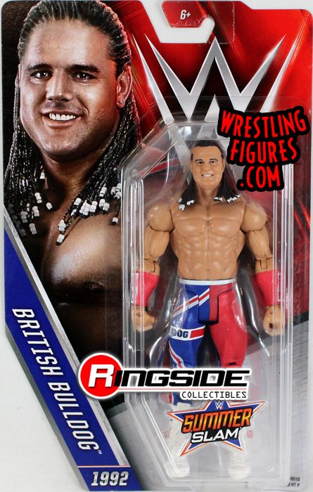 British Bulldog Wwe Series Quot Summerslam 2016 Quot Wwe Toy